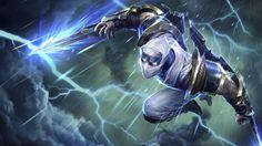 Shockblade Zed Wallpaper - LeagueSplash