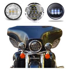 """89.88$  Watch here - http://alipwf.worldwells.pw/go.php?t=32782691885 - """"With DRL  7"""""""" headlight For Harley Davidso Motorcycle H4 Led Headlamp & 4.5"""""""" LED Passing lamp spotlight For Harley Moto Lighting"""" 89.88$"""