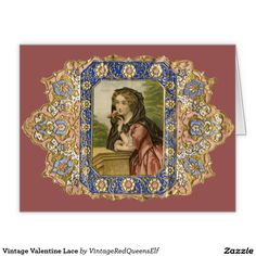 Shop Vintage Valentine Lace created by VintageRedQueensElf. Personalize it with photos & text or purchase as is! Vintage Packaging, Vintage Labels, Vintage Ephemera, Vintage Cards, Vintage Images, Vintage Pictures, Beauty Products Labels, Facial Products, Vintage Perfume