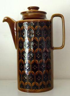 Lovely Vintage Hornsea 'Heirloom' Coffee Pot.