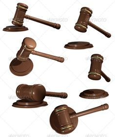 Gavel by brux gavel Illustration, wooden gavel to judges on white background 6 JPEG 56404231, 6 PNG 56404231 created in 3ds max