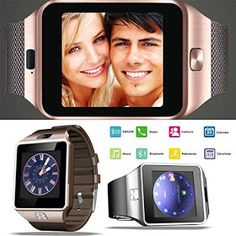 Premsons Bluetooth Smart Wrist Watch Phone With Camera & Sim Card (Gold Brown) Details, Review, Price and Demo Video