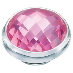 Your Fabulousness will be in full bloom with this Pink Cubic Zirconia JewelPop!