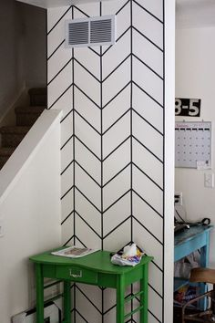Image result for washi tape door