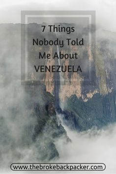 Venezuela is the heart of real adventure backpacking in South America - learn all you need to know before travelling in Venezuela