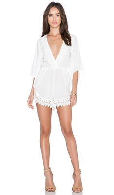 RISE OF DAWN Ever So Sweet Jumpsuit in White | REVOLVE