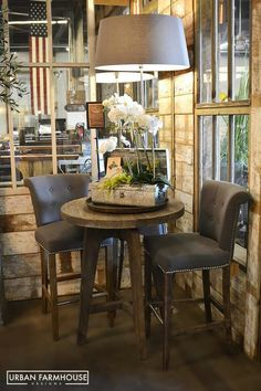 Rustic Farmhouse Decor Modern Style Urban Designs Bistro Dining Area Rooms French Farm Tables