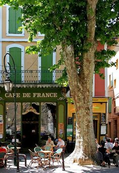 Cafe de France.. L'Isle-sur-la-Sorgue, Provence, France | by Rainer Gütgemann