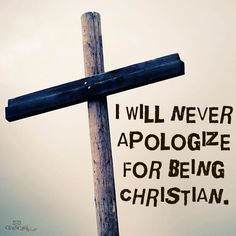 I'd rather be an old time Christian than anything I know!