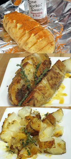 Bone Suckin' Seasoned Baked Potato Recipe