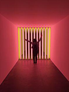 "Dan Flavin's ""Corners, Barriers, and Corridors"" at David Zwirner — amychendesign.com"