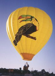 Twin Beaks -- the first hot air balloon I ever flew in. The beginning of a love affair with balloon flying...