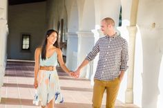 Old Town Engagement Session