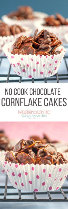 Chocolate Cornflake Cakes that take less than 10 minutes to prepare and are perfect to make with your children!