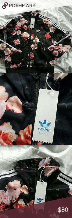 Adidas Originals Firebird Jacket NWT Rare Print Adidas Tops Sweatshirts & Hoodies