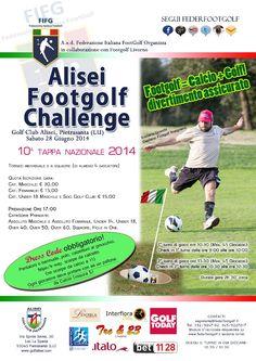 10° Tappa Nazionale di Footgolf al Golf Club Alisei di Pietrasanta (LU)