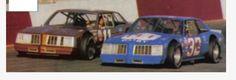 "Jack ""Ironman"" Ingram vs. Dale Jarrett NASCAR sportsman series."