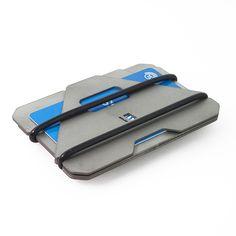 Obstructures \ shop \ A3 titanium wallet