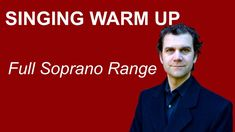 Singing Warm Up - Full Soprano Range Singing Warm Ups, Reading Sheet Music, Vocal Exercises, Musical Theatre, Choir, Musicals, Notes, Singer, Crafty