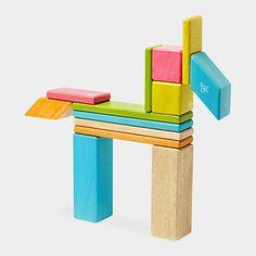 Tegu Magnetic Wooden Block Set | MoMAstore.org