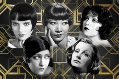 10 Iconos de estilo de los años 20 – VEIN Magazine Louise Brooks, Cheongsam, Casual Chic, Flappers, Movie Posters, Movies, Art, Long Pearl Necklaces, Fur Coats