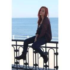#smiling#black#sea#awesome#view#ginger#hair#cute#tumblr