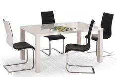 Stół Ronald - biały lakier - najczęściej wybierany model stołu z wysyłką na terenie całego kraju.