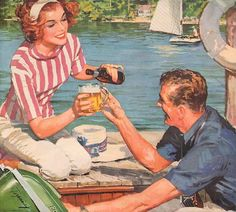 summer is coming... http://www.pinterest.com/diadelosmuert0s/inspirational-old-photos-and-ads/
