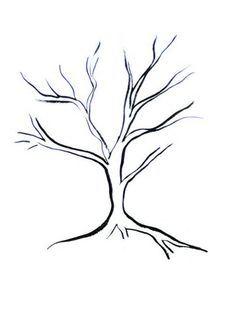 how to draw a twisted tree kid s room pinterest drawings