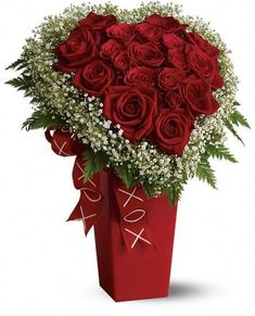 Valentines Roses or I would love these for my Ruby Wedding
