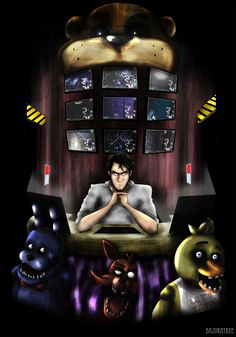 Five nights at Freddy's from Deviantart