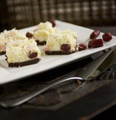 Rocky Road with Marshmallows, Raspberry Licorice and Coconut