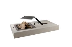 Griller  - Concreto Floating Nightstand, Outdoor, Design, Furniture, Home Decor, Products, Lawn And Garden, Floating Headboard, Outdoors