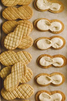 Nutter Butter® Cookies Recipe | Epicurious Nutter Butter Cookies, Butter Cookies Recipe, Graham Cracker Crumbs, Graham Crackers, Bikini Cookies, Whipped Peanut Butter, American Desserts, Thing 1, Tutorials