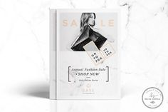 Bare Fashion Flyer Template by Nordic.Arg on @Graphicsauthor