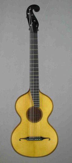 Reproduktion of A.Stauffer-guitar Nr. 2700 ca 1832