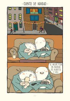 La vida en pareja es muy alocada (incluso en Navidad)
