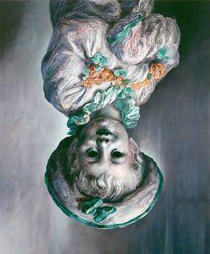 Harpy, 2002 by Glenn Brown