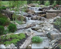 Pondless Waterfalls, Disappearing Waterfalls, Low Maintenance Landscape Edition - eclectic - landscape - new york - by BJL Aquascapes