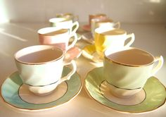 Johnson Bros Espresso Coffee Cup and Saucer Set - Old Chelsea