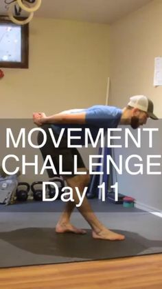 It's Day 11 of our MOVEMENT CHALLENGE that involves mobility training and injury prevention exercises 💪🏻Great for hip, knee, ankle and shoulder mobility! Gym Workout Videos, Gym Workouts, At Home Workouts, Strenght Training, Gymnastics Workout, Balance Exercises, Flexibility Workout, Injury Prevention, Health Coach