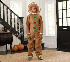 Gingerbread Man Costume #PotteryBarnKids