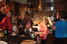 WTF Italian Cooking Class with Giuliano