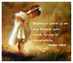 Psalm 139:4