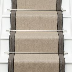 Products   Runners for stairs and halls   Neutral   Hanover: Oatmeal - Roger Oates Design   Runners and Rugs
