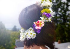midsummer flower crown