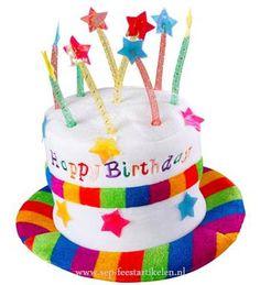 Verjaardagshoed HAPPY BIRTHDAY