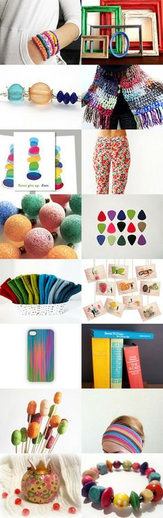 It's a Colorful World by DK Miller on Etsy--Pinned with TreasuryPin.com