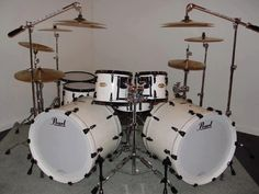 Diy Drums, Pearl Drums, Drums Beats, Double Bass, Snare Drum, Drum Kits, Drummers, Percussion, Musical Instruments