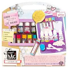 Project Create Your Own Lip Balm Lab Kit Learn Science Hot Toy Fast Shipping Science Toys, Stem Science, Learn Science, Project Mc2 Toys, Project Mc Square, Lip Balm Containers, Netflix, Tween Gifts, Math Projects